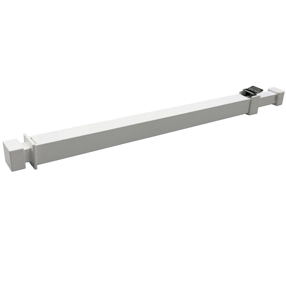 IDEAL IDEAL Ideal Security BK111 Window Security Bar with Child-Proof Lock, Adjustable 15.7-26.75 inches