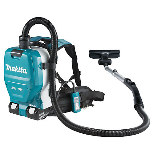 18Vx2 LXT Cordless Backpack Vacuum Cleaner (2.0 L)