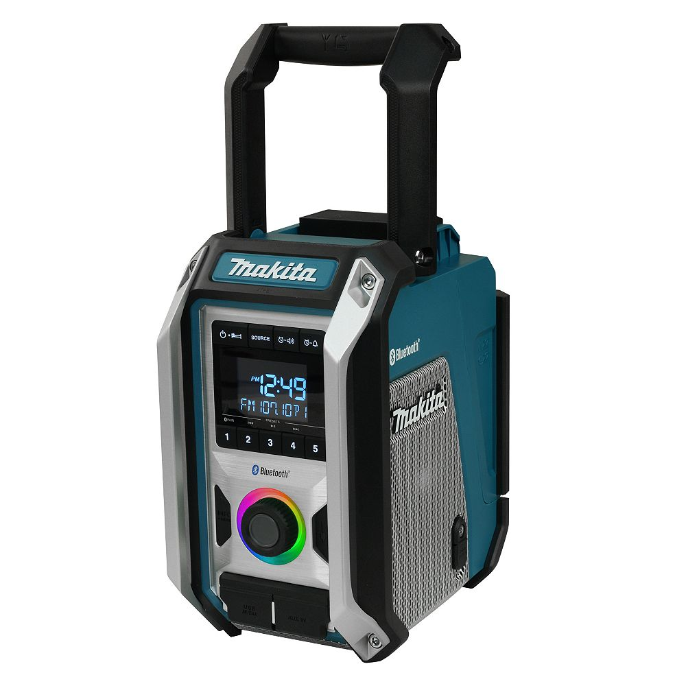 MAKITA Cordless or Electric Jobsite Radio with Bluetooth®