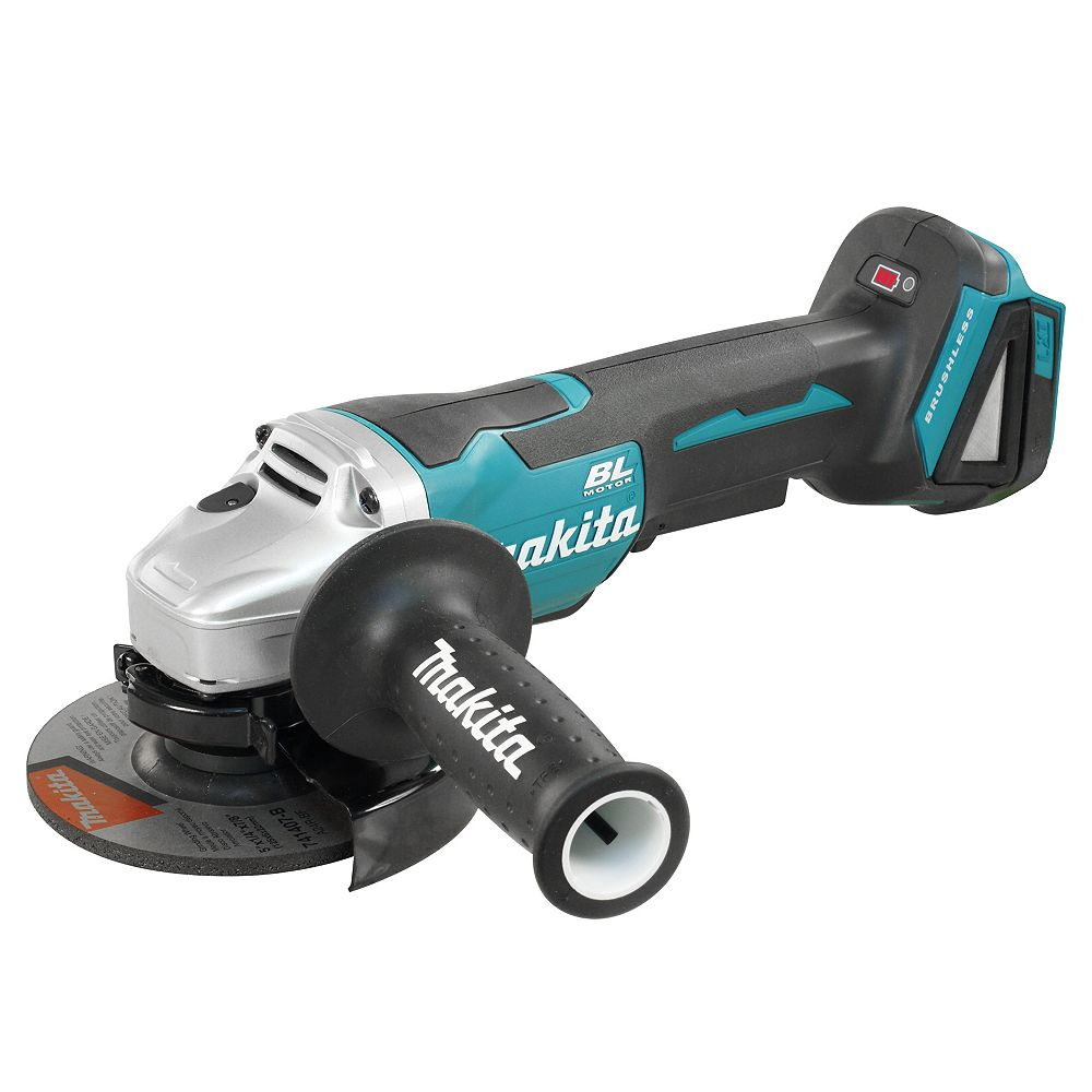 "MAKITA 18V LXT Brushless 5"" Angle Grinder, Paddle Switch (Tool Only)"