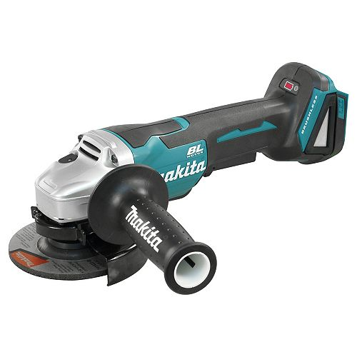 "MAKITA 18V LXT Brushless 4-1/2"" Angle Grinder, Paddle Switch (Tool Only)"
