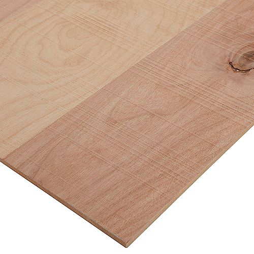 Columbia Forest Products 1/4in. X 2ft. X 4ft. Rough Sawn Birch Plywood