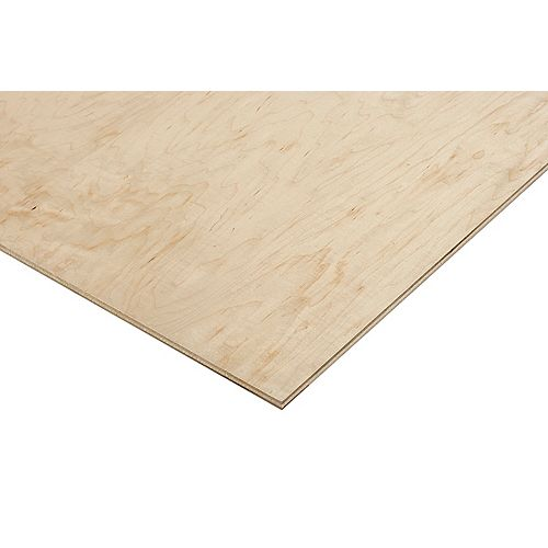 Columbia Forest Products 1/2in. X 2ft. X 4ft. Prefinished Maple Plywood