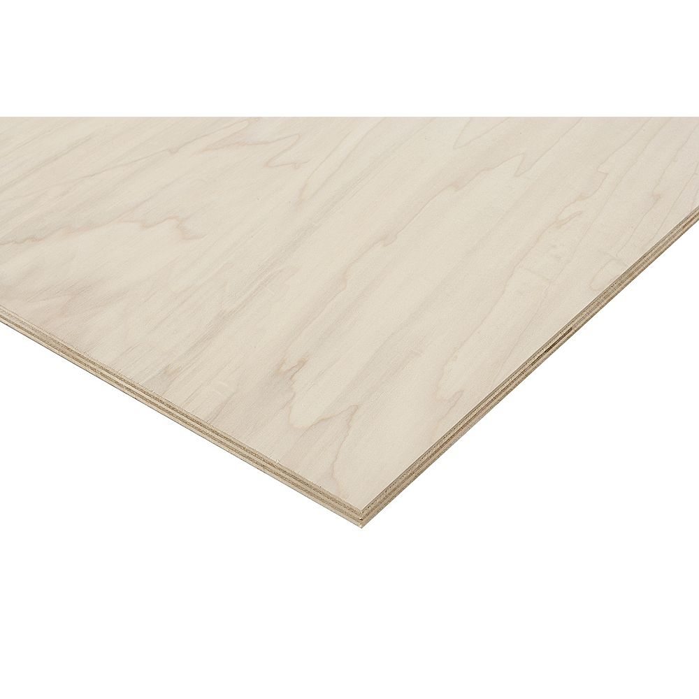 Columbia Forest Products 3/4in. X 2ft. X 4ft. Poplar Plywood