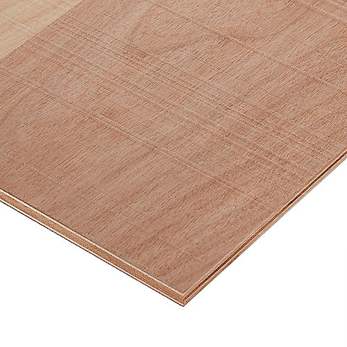 3/4in. X 2ft. X 4ft. Rough Sawn Birch Plywood