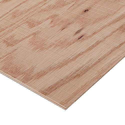 Columbia Forest Products 1/2in. X 2ft. X 4ft. Rough Sawn Red Oak Plywood