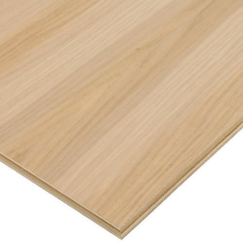 3/4in. X 2ft. X 4ft. White Oak Plywood