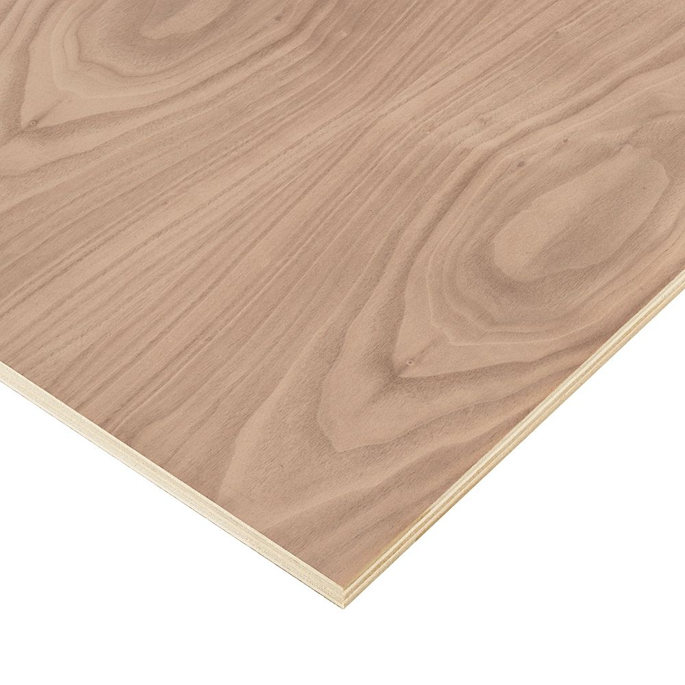 Columbia Forest Products 3/4in. X 2ft. X 4ft. Walnut Plywood