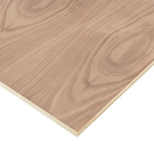 3/4in. X 2ft. X 4ft. Walnut Plywood