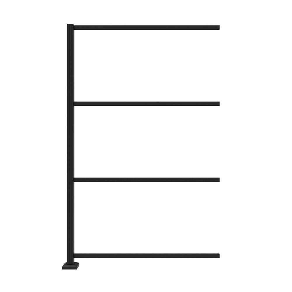 Barrette Extension de structure pour installation en ligne de panneaux 2x4'