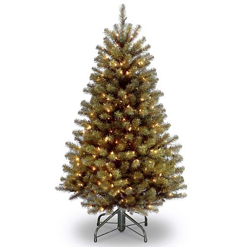 4.5 ft. North Valley Spruce Tree with Clear Lights