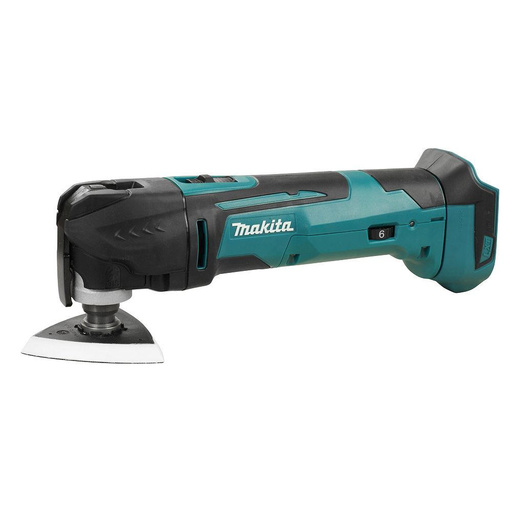 MAKITA 18V LXT Multi Tool, Toolless (Tool Only) w/ Accessories Kit