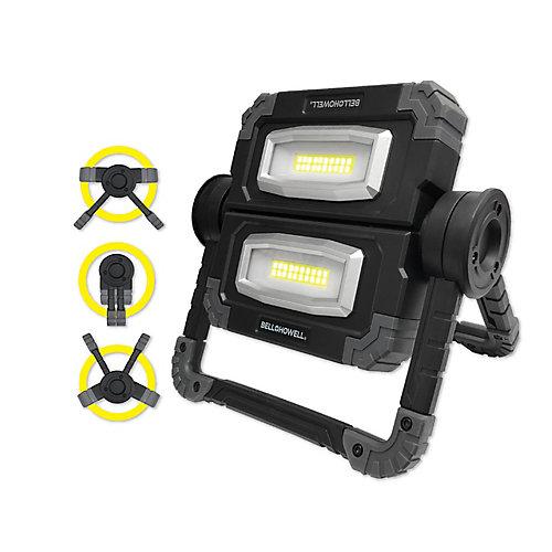 Lumière Ultra 360 - lampe de travail DEL  portative pliable