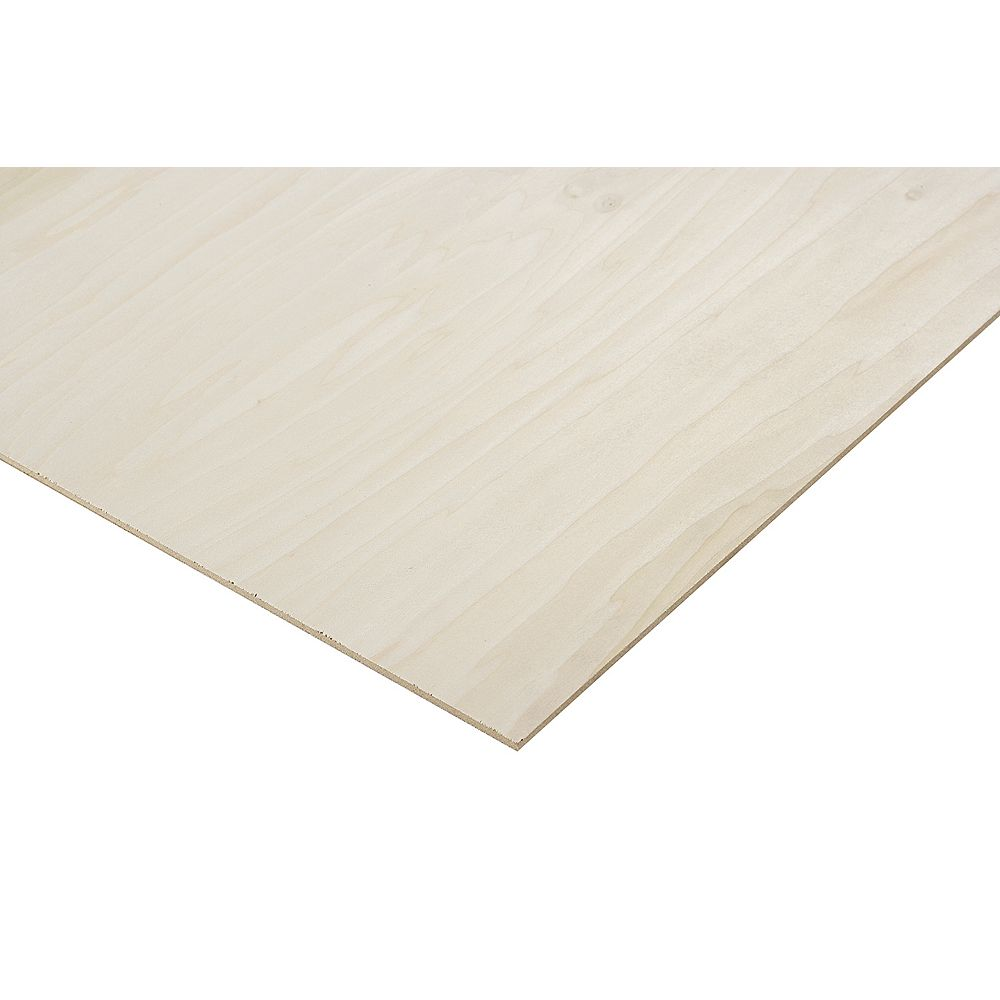 Columbia Forest Products 1/4in. X 2ft. X 4ft. Poplar Plywood