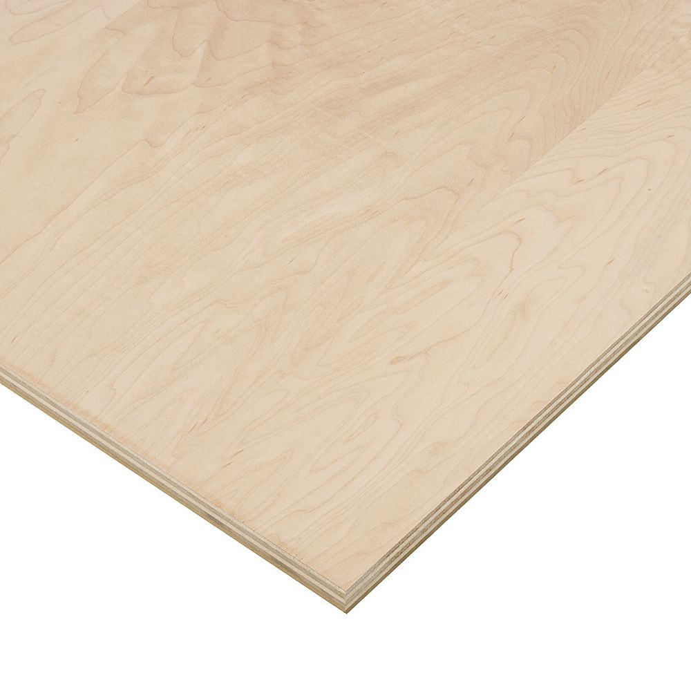 Columbia Forest Products 3/4in. X 2ft. X 4ft. Maple Plywood