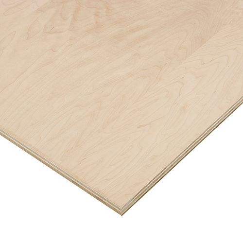 3/4in. X 2ft. X 4ft. Maple Plywood