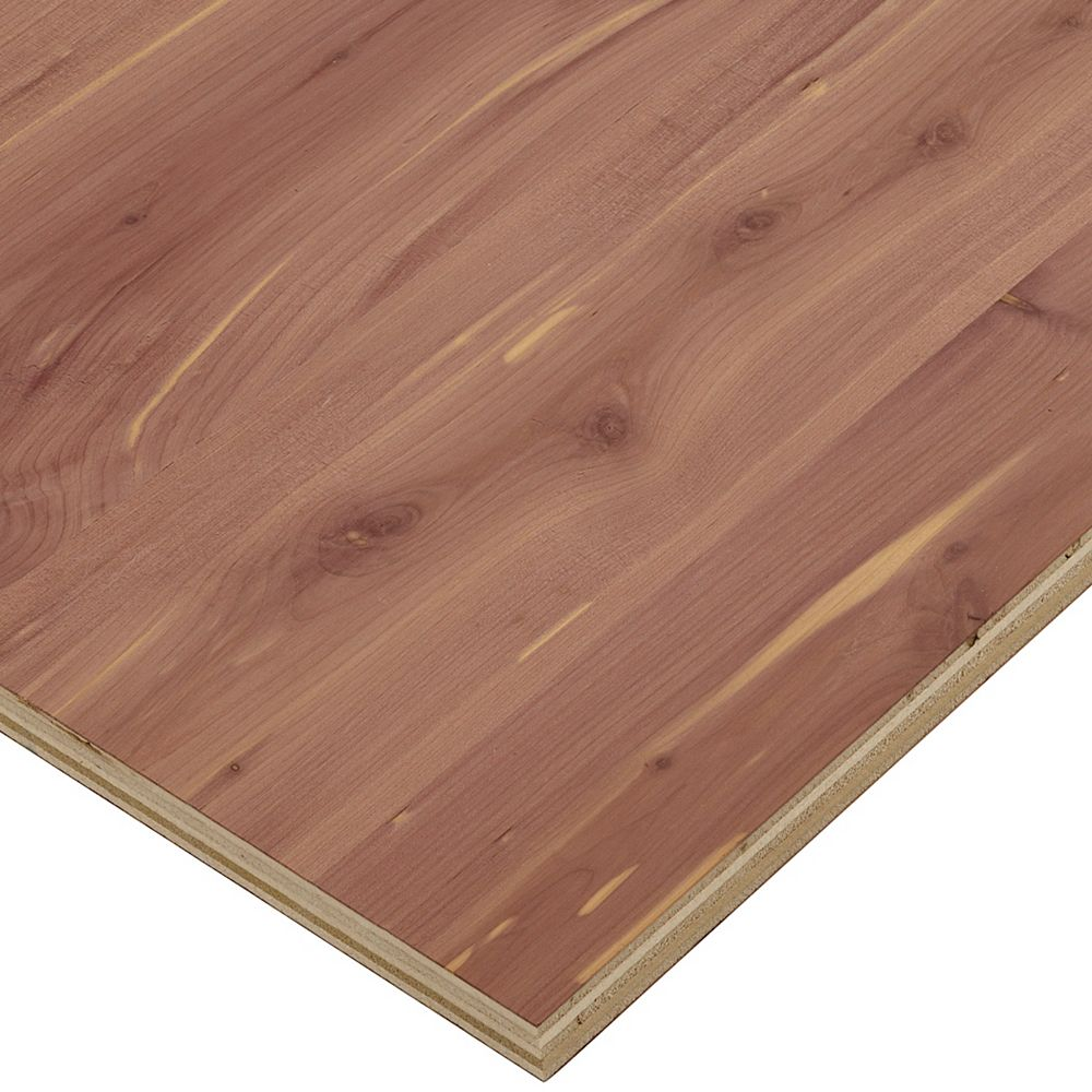 Columbia Forest Products 3/4in. X 2ft. X 4ft. Aromatic Cedar Plywood