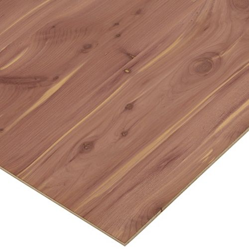 Columbia Forest Products 1/4in. X 2ft. X 4ft. Aromatic Cedar Plywood