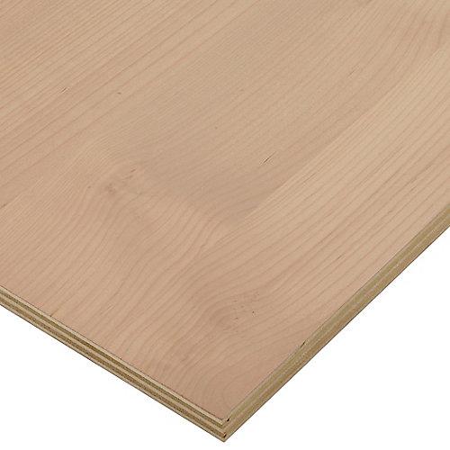 3/4in. X 2ft. X 4ft. Alder Plywood