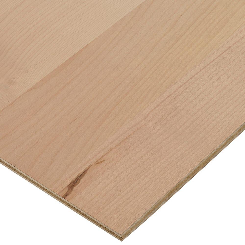 Columbia Forest Products Contreplaqué daulne 1/2 po x 2 pi x 4 pi