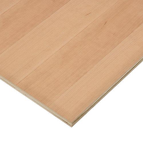 3/4in. X 2ft. X 4ft. Cherry Plywood