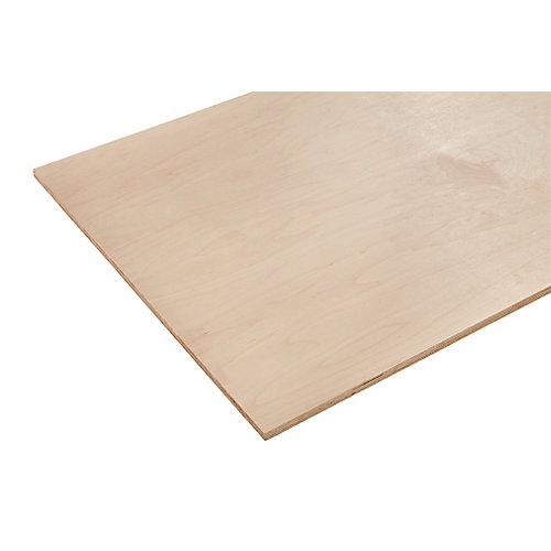 1/2in. X 2ft. X 4ft. Europly Maple Plywood