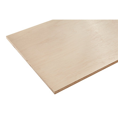 3/4in. X 2ft. X 4ft. Europly Maple Plywood