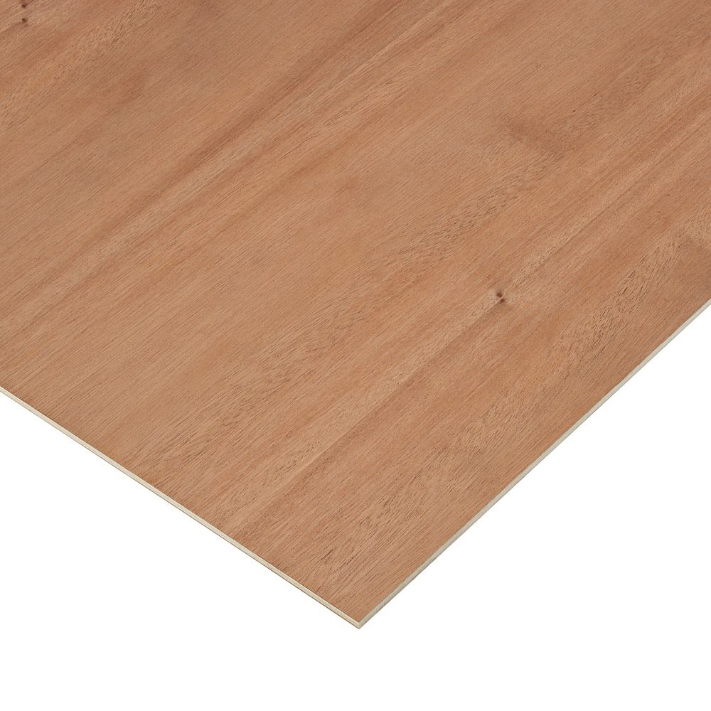 Columbia Forest Products 1/4in. X 2ft. X 4ft. Mahogany Plywood