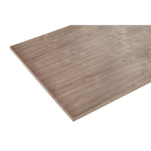 3/4in. X 2ft. X 4ft. Europly Walnut Plywood