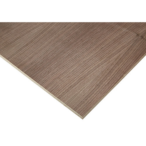 1/2in. X 2ft. X 4ft. Europly Walnut Plywood
