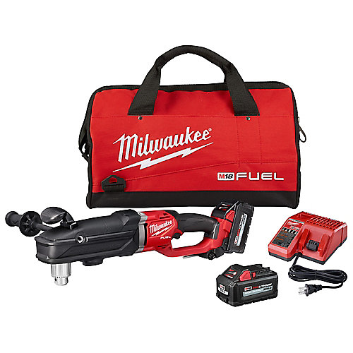 M18 FUEL 18V Lithium-Ion Brushless Cordless GEN 2 SUPER HAWG 1/2 -inch Right Angle Drill Kit