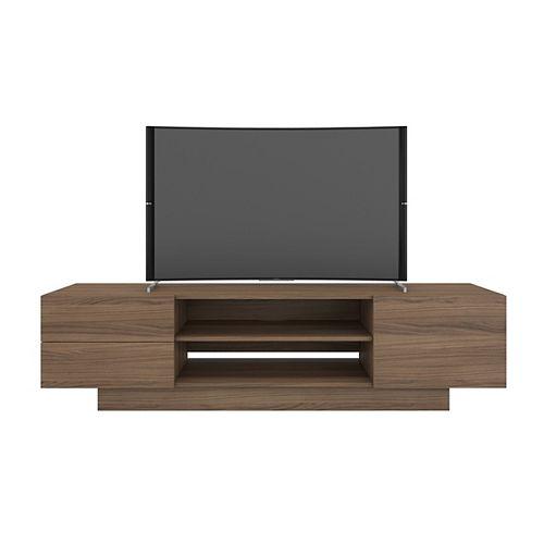 Morello 72 inch TV Stand, Nutmeg