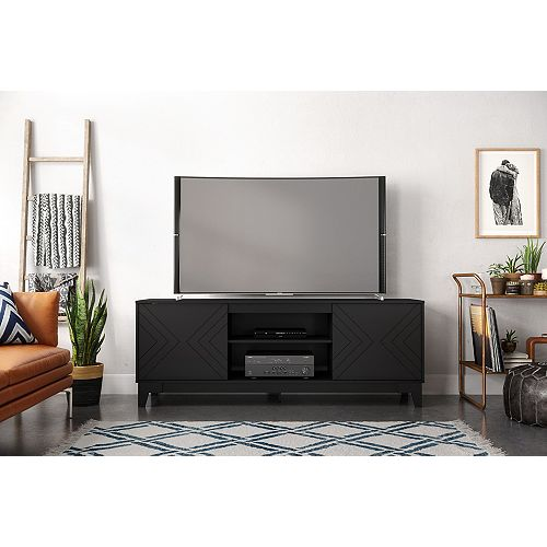 Arrow 72 inch TV Stand, Black