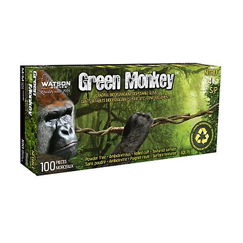 Green Monkey 4Mil Disposable -L