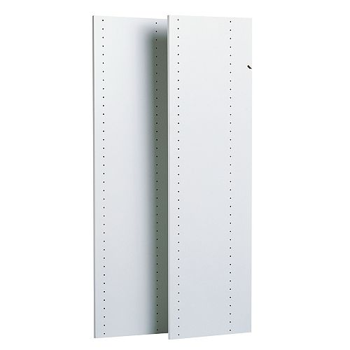 48-inch Vertical Panels in White (2-Pack)