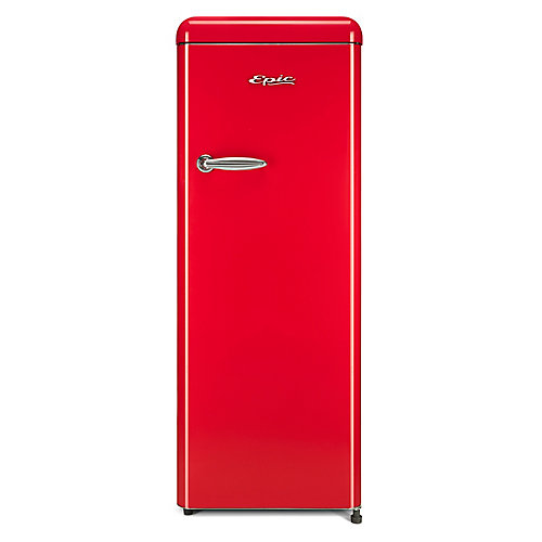 9 cu.ft. Red Retro All-Refrigerator