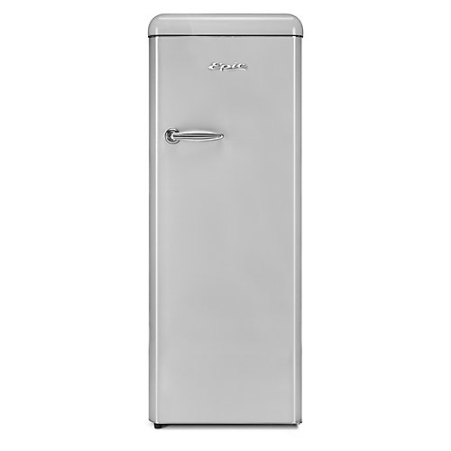 9 cu.ft. Silver Retro All-Refrigerator