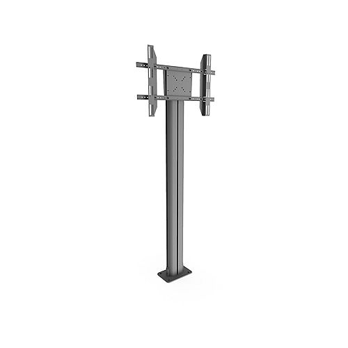 Bolt Down TV Floor Stand with Built-in Power Bar for 37-inch to 70-inch TVs