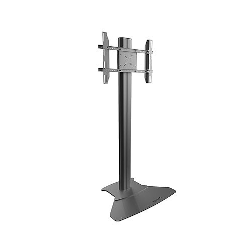 Stationary TV Floor Stand with Built-in Power Bar for 37-inch to 70-inch TVs
