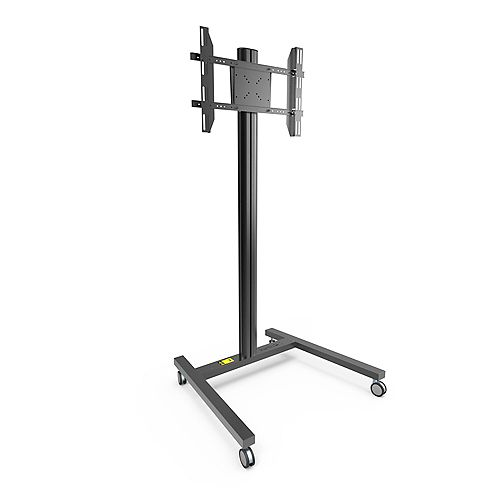 Rolling TV Floor Stand for 37-inch to 65-inch TVs, Black