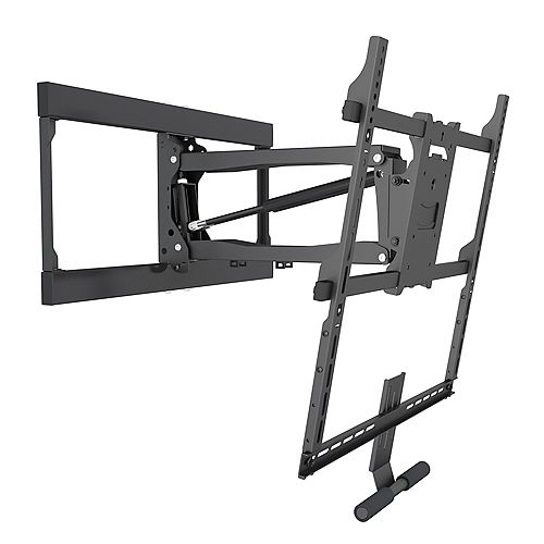 Above Mantel/Fireplace Pull-Down TV Wall Mount for 42-Inch to 65-Inch TVs