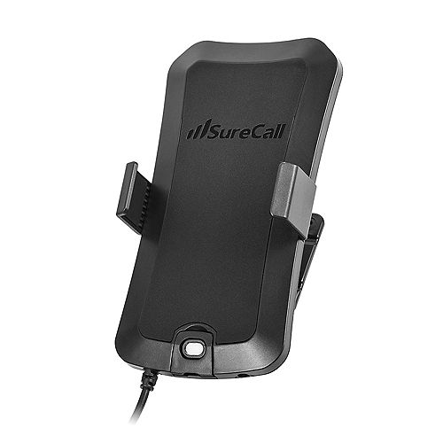 Universal Dash-Mount Phone Cradle with Built-In Mobile Antenna