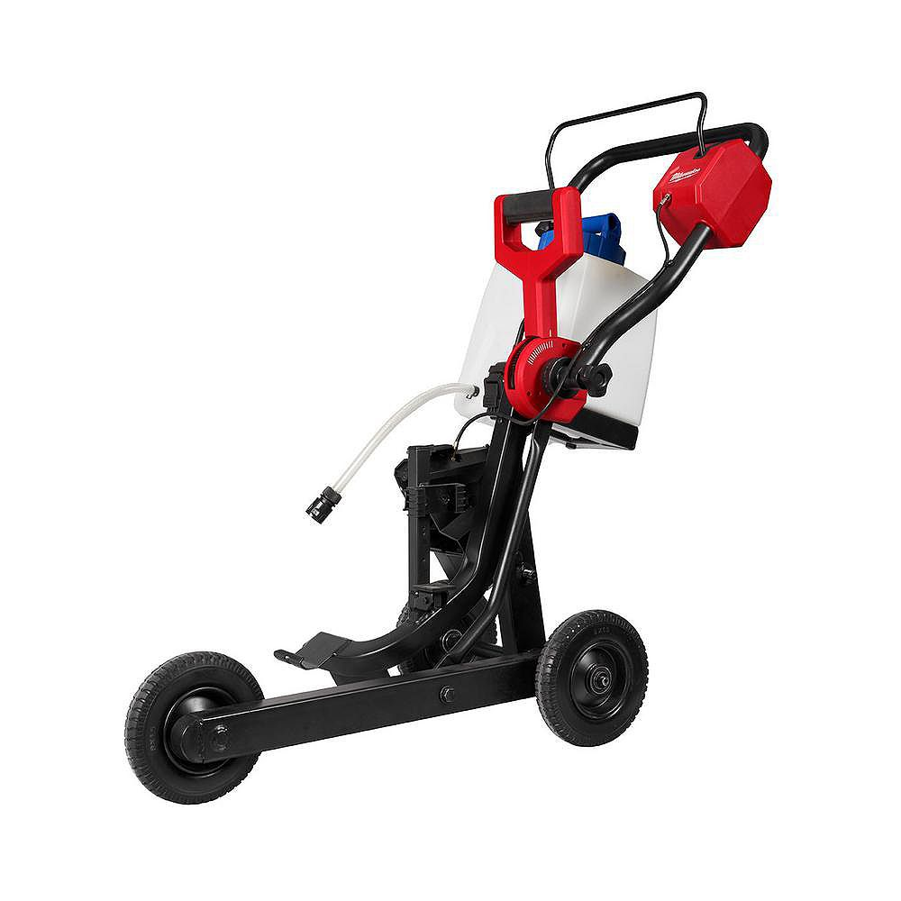 Milwaukee Tool MX FUEL Collapsible Cart for Concrete/Asphalt Cut-Off Saw