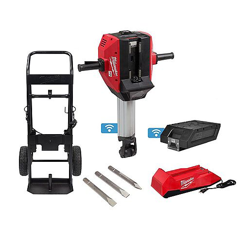 MX FUEL Lithium-Ion Cordless 1-1/8 -inch Breaker with Battery and Charger