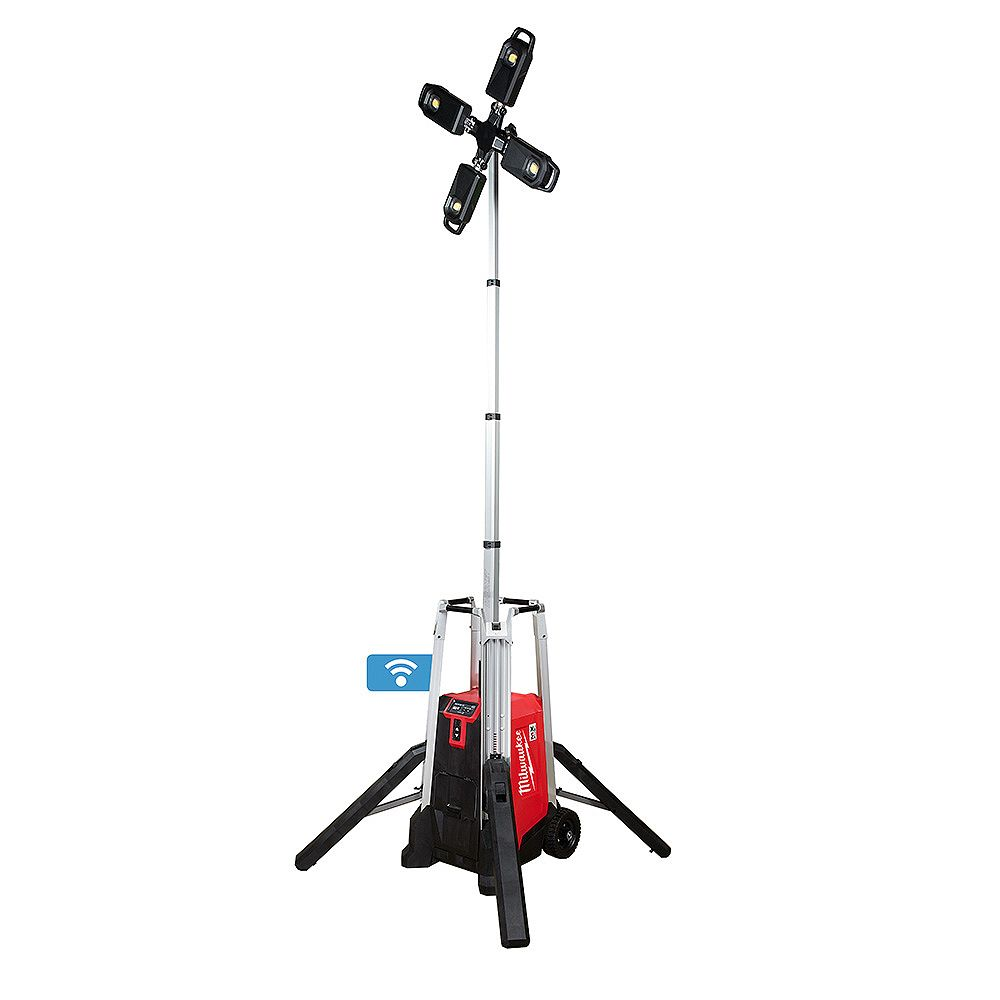 Milwaukee Tool MX FUEL Lithium-Ion Cordless Rocket Tower Light with Battery and Charger