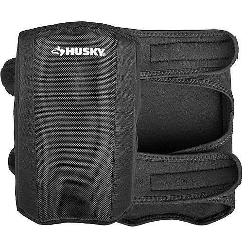 2 Pairs Husky Low Profile Over/Under Work Knee Pads