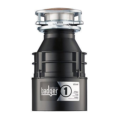 Badger 1 - Broyeur de déchets 1/3 HP