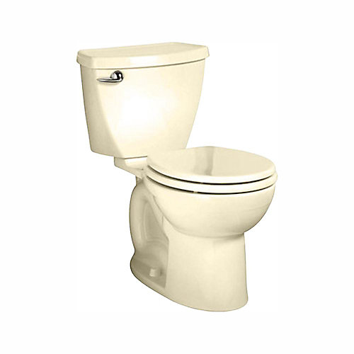 Cadet 3 Tall Height 2-Piece 4.8L Round Toilet in Bone