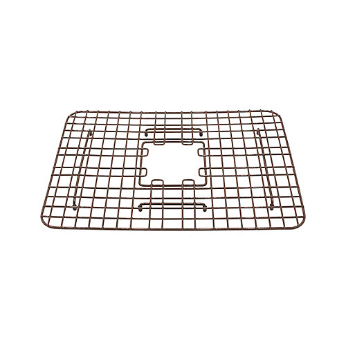SinkSense Spencer 15 inch x 13.05 inch Bottom Grid for Kitchen Sinks in Antique Brown