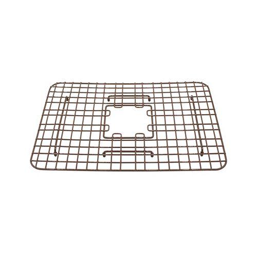 SinkSense Spencer 15 inch x 13.05 inch Bottom Grid for Kitchen Sinks in Antique Brown